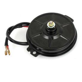 ソウテン uxcell DCモーター 冷却ファン 有線 自動車 エアコン 超薄型 DC 24V 3900R/分