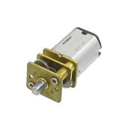 ソウテン コネクタ モーター 電気磁気 6VDC 40RPM 2ピン マイクロ ギヤード モータ