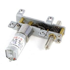 ソウテン DCギヤードモーター 電気ギヤードボックスモーター 減速機 歯車ギアモーター 電気減速機 16mm DC 12V 6RPM出力速度 新しい