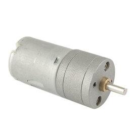 ソウテン DCギヤードモータ Mトルクギアボックスモーター 25mmDC 12V 40?50mA 1000 RPM