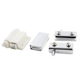 uxcell マグネットキャッチ ラッチ クランプ シングルヘッド ガラスドア ホーム キャビネット カップボード用