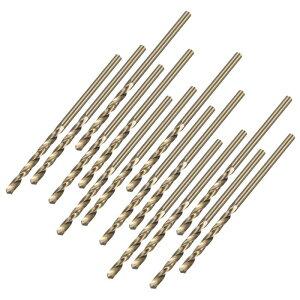 ソウテン ツイストドリル高速スチールビット スチール 銅 アルミニウム合金 HSS M35 5% Co 1.9mm 15個入り