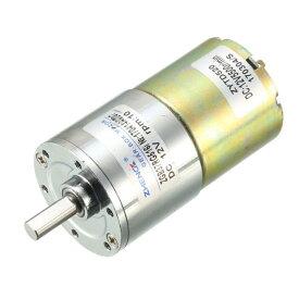 ソウテン DCギヤードモータ DCギアモーター ギヤードモーターボックス 12V 0.16A ZYTD520