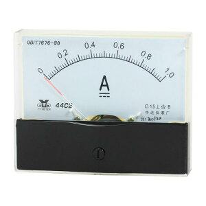 ソウテン アナログ電流計 パネル DC01A ゲージ 測定範囲 1.5精度 44C2 アナログ クリア