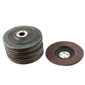 uxcell サンダーディスク 研削砥石 アブレシブ 丸型 金属用 仕上げ 10枚入り 320#