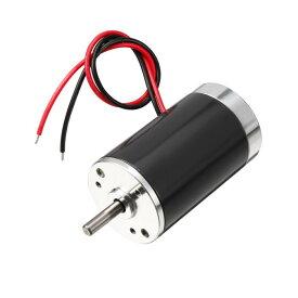 ソウテン DCモーター 削減モーター 24V 3000RPM 5mmシャフト 永久磁石の速度 シルバートーン