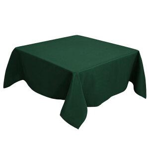 ソウテン PiccoCasa 正方形 テーブルクロス 汚れに強い しわになりにくい 結婚式 ピクニック用 ダイニング テーブルカバー 屋内 屋外 テーブル 140*140cm 緑