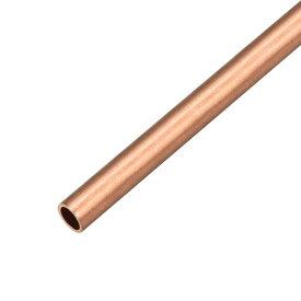 ソウテン 銅丸管パイプ 外径7mm×内径6mm 長さ500mm