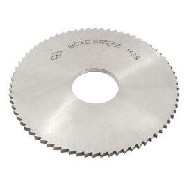 ソウテン uxcell チップソー 72T スリットソー HSS素材 シルバートーン 2.5mmの厚さ 2.2cmの穴径