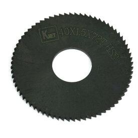 ソウテン uxcell チップソー 丸ノコ 40mm x 1.5mm 72歯 チップソー 丸ノコ ブラック