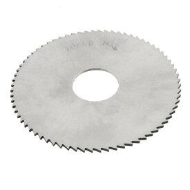 ソウテン uxcell チップソー スリッティング ソー 72T 80mm外径 1.5mmの厚さ HSS 丸刃 スリッター