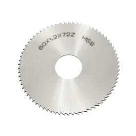 ソウテン uxcell チップソー 72Tスリッティングソー チップソー HSS 鋸歯状 ペグトゥースタイプ