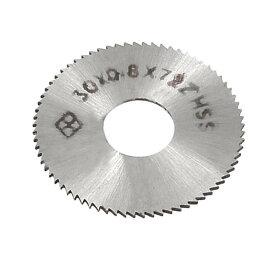 ソウテン uxcell チップソー 丸ノコ HSSミニルーターソー 30mm外径 0.8mm厚 歯付72T