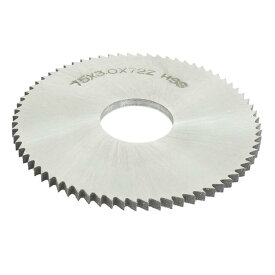 ソウテン uxcell スリッターソー 75mm x 22mm x 3mm 72ペグの歯 HSS 手工具