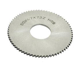 ソウテン uxcell スリッターソー 50mm x 16mm x 1.7mm 72ペグの歯 HSS 切削工具