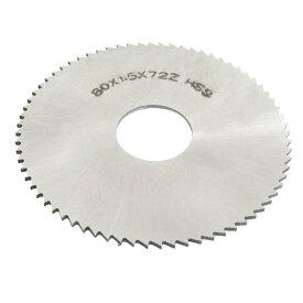 ソウテン uxcell チップソー 丸ノコ ミニルーターソー チップソー 丸ノコ 80mmx22mmx1.5mm HSS 72歯