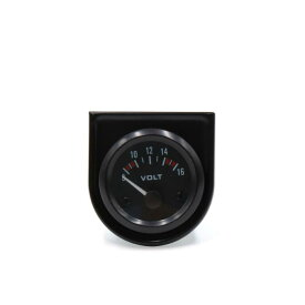 uxcell 電圧ポインタメーター 電圧測定ゲージ レンジ8Vー16V電圧計 52mm径電圧測定ツール プラスチック