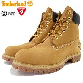 【日本正規品】ティンバーランド Timberland ブーツ 6インチ プレミアム ウィートヌバック(ティンバーランド timberland TIMBERLAND ティンバ 10061 6inch Boot Wheat イエロー 防水 定番 メンズ・靴 MENS ティンバーランド ティンバー)