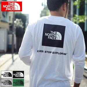 ザ ノースフェイス THE NORTH FACE Tシャツ 長袖 メンズ バック スクエア ロゴ ( the north face Back Square Logo L/S Tee ティーシャツ T-SHIRTS カットソー トップス ロング ロンティー ロンt メンズ 男性用 NT82