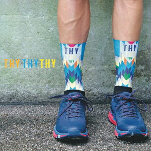 THY (Trail Hounted Youth) ROCKET MAN ランニングソックス ユニセックス(メンズ・レディース) トレイルランニング マラソン 自転車 サイクリング おしゃれ ブランド