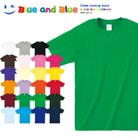 BLUE AND BLUE ブルーアンドブルー ユニセックス(メンズ・レディース) Tシャツ 半袖