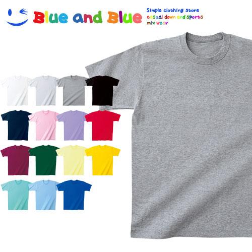 BLUE AND BLUE ブルーアンドブルー ユニセックス(メンズ・レディース) 日本製 Tシャツ 半袖