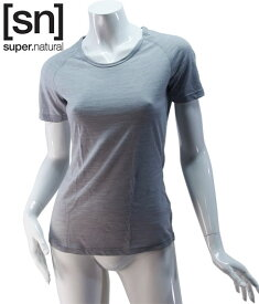 【sn】super.natural スーパーナチュラル レディース W BASE TEE 140 / 半袖Tシャツ SN1172-137