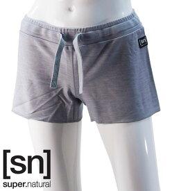 【sn】super.natural スーパーナチュラル レディース W SPORTY SHORT 220 / パンツ W00168-137