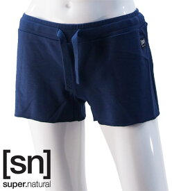 【sn】super.natural スーパーナチュラル レディース W SPORTY SHORT 220 / パンツ W00168-196