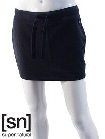 【sn】super.natural スーパーナチュラル レディース W SPORTY SKIRT 220 / スカート W00171-001