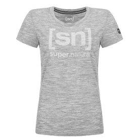 【sn】super.natural スーパーナチュラル レディース W ESSENTIAL I.D. TEE / 半袖Tシャツ W004783-B05