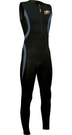 WaterMove ウォータームーブ メンズ 男性用 ロングウォーマー 保温水着 WML-34110 あったか水着 フィットネス水着 ダイエット 大きなサイズ 水泳 プール シニア ウェットスーツ クロロプレーン スイミング 体型カバー エクササイズ アクアビクス 水中ウォーキング
