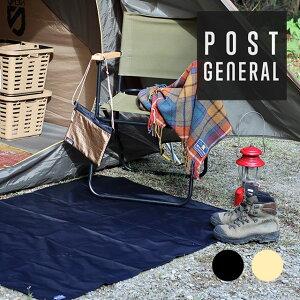 POST GENERAL ポストジェネラル グランドシート&サコッシュバッグ マット レジャーシート 2way コンパクト 小型 軽量 BBQ ソロキャンプ用品 アウトドア おしゃれ 通勤 通学 デイリー 普段使い ボ