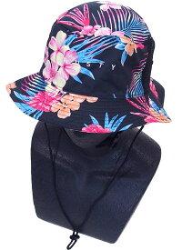 Rusty ラスティー レディース サーフハット ブラック 939909 フリーサイズ 帽子 マリンハット 紫外線防止 熱中症対策 UVカット UV対策 日焼け防止 海水浴 旅行 海外旅行 川遊び 水遊び かわいい お散歩 ウォーキング