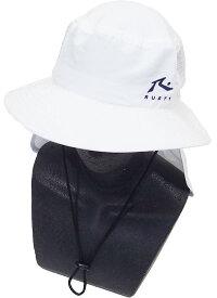 4a8cddc65963b Rusty ラスティー キッズ サーフハット(サンシェード付き) 968900 ホワイト Rusty 帽子 Rusty サーフハット