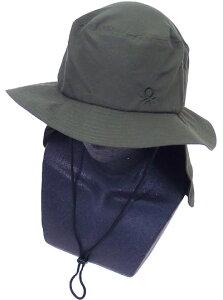 BENETTON ベネトン レディース サーフハット(サンシェード付き) 429558 帽子 マリンハット 水着 紫外線防止 UVカット 日焼け防止 海水浴 水泳 夏用 プール スイミング 旅行 サーフィン ダイビング
