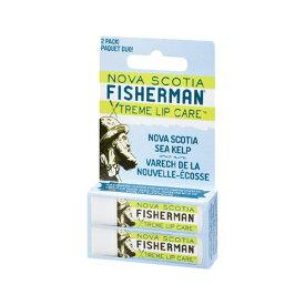 Nova Scotia Fisherman(ノバスコシア・フィッシャーマン) LIP BALM リップバーム -オリジナル(ダブルパック) 季節限定 自然由来成分のプレミアムなリップバーム 【スキンケア/クリーム/アウトドア/携帯/オーガニック】
