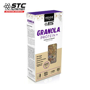 STC Nutrition(STCニュートリション) GRANOLA Protein+ グラノーラプロテインプラス 1箱 【非常食/備蓄食糧/保存食/防災グッズ/栄養補給食品】