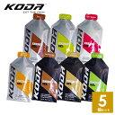 KODA(コーダ) 旧shotz(ショッツ) エナジージェル 選べる7味5個セット 行動食 補給食 ランニング トレラン レース【マ…