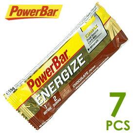 パワーバー PowerBar エナジャイズ チョコレート味7個セット パワーバー エナジャイズ エネルギー補給食 パワーバー エナジャイズ トレイルランニング パワーバー エナジャイズ