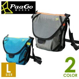 PaaGo WORKS パーゴワークス スイング L 軽量・防水 3WAYバッグ Lサイズ トレイルランニング ショルダーバッグ、ウエストバッグ、バックパックのカスタム