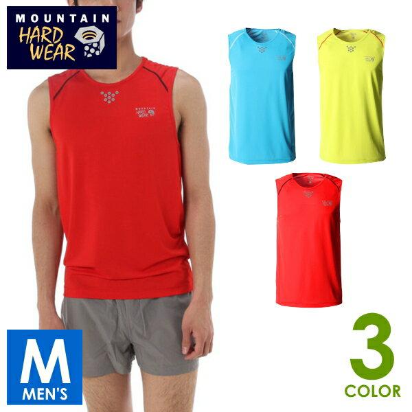 【マウンテンハードウェア】ミントヒルクールスリーブレス T メンズ ノースリーブシャツ OE0854 トレイルランニング MOUNTAIN HARD WEAR