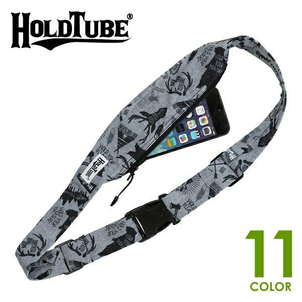 HOLDTUBE REGULAR(ホールドチューブ レギュラー) ウエストバッグ/ウエストポーチ/ショルダーバッグ ランニング/野外フェス/音楽フェス HOLD TUBE スノーボード/海外旅行