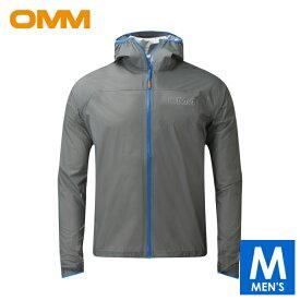 OMM オリジナルマウンテンマラソン Halo Jacket メンズ フルジップ シェルジャケット トレイルランニング ウェア OC092
