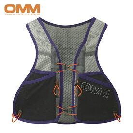 OMM オリジナルマウンテンマラソン Trailfire Vest メンズ・レディース レースベスト トレイルランニング バック OF035-PP