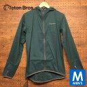 ティートンブロス メンズ フルジップ パーカー ジャケット トレイルランニング・ウェア Teton Bros Wind River Hoody …