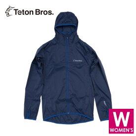 ティートンブロス レディース フルジップ フーディージャケット トレイルランニング・ウェア Teton Bros WS Wind River Hoody TB19120021 【トレイルラン/トレラン/ランニング/マラソン/トレッキング/ウェア】