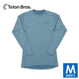 ティートンブロス メンズ 長袖シャツ(起毛) トレイルランニング・ウェア Teton Bros Power Wool Grid L/S TB19342010 【トレイルラン/トレラン/ランニング/マラソン/トレッキング/ウェア】