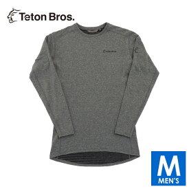 ティートンブロス メンズ 長袖シャツ(起毛) トレイルランニング・ウェア Teton Bros Power Wool Grid L/S TB19342020 【トレイルラン/トレラン/ランニング/マラソン/トレッキング/ウェア】