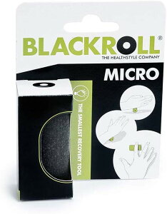 ブラックロール ストレッチポール ヨガポール MICRO ブラック 2.4g 6cm×3cm(日本正規品 1年保証)